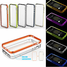 Rock Incoming Call LED Blink Flash TPU PC Back Case Cover For Applle iPhone 5 5s