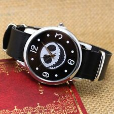 New Skull Smile/Dual Time Digital Quartz Wrist Watch Men Women Valentine's Gifts