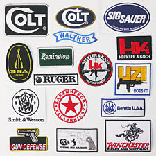 GUNS / FIREARMS GUN PATCH COLLECTION - All Under £2, UK Stock, Fast & Free Post!