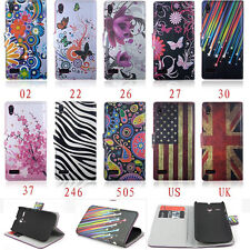 Magnetic Flip Wallet Leather Stand Case Cover For Various LG SmartPhone Models