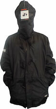 Mens Location Aplitex Goggle Jacket Waterproof Warm Fleece Lined Coat XL-4XL BLK