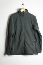 Russell Athletic Jacket 8700M Black Granite Charcoal Polyester Full Zip Fleece