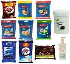 NEW ALL TYPES OF WET WIPES FOR FACE HOME FURNITURE BATHROOM WINDOW GLASS LEATHER