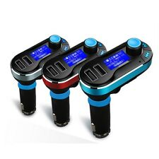 1pc Car Kit MP3 Player FM Transmitter SD LCD Dual USB Charger New