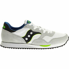 S70124-15 SAUCONY DXN TRAINER WHITE/BLACK *NEW IN BOX*