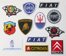 """ITALIAN CAR MARQUES"" DISCOUNT PATCH SHOP Low Prices, UK Seller, Fast Free Post"