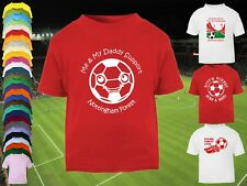 NOTTINGHAM FOREST Football Baby/Kids/Childrens T-shirt Top Personalised-Any team