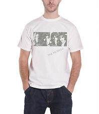 The Beatles White Album Faces Official Mens New White T Shirt