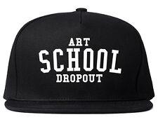 Kings Of NY Art School Dropout Printed Snapback Hat College
