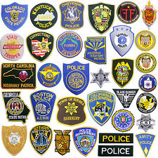 ONE-STOP POLICE PATCHES COP SHOP - Hot Patch Batch Cheap, Read 'Em & Weep...