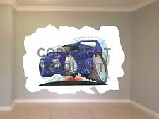 Huge Koolart Cartoon Lamborghini Diablo Wall Sticker Poster Mural 803