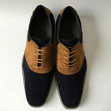 New Mens Suede Casual Formal Lace Up Brogue Fashion Shoes UK SIZE 6 7 8 9 10 11