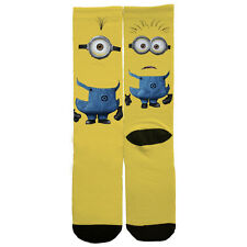 Custom Socks- Minion Minions Despicable Me (On NIKE ELITES or NON BRANDED)