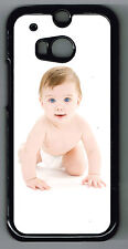 PERSONALISED PHOTO/COLLAGE SNAP ON HTC One M8 or Sony Xperia Z2 PHONE CASE/COVER