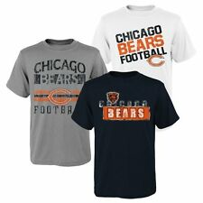 Chicago Bears Youth Gray/Navy Blue 3-Piece T-Shirt Set