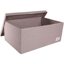 Minene Underbed Storage Boxes ; Collapsible Fabric Storage Box with Lid
