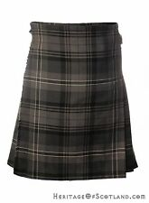 Great Gift: Boy's Kids Deluxe Polyviscose Kilt Hamilton Grey Tartan NEW!
