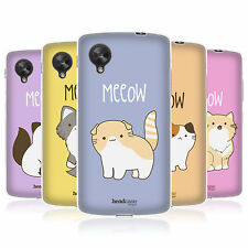 HEAD CASE KITTY CATS SILICONE GEL CASE FOR LG GOOGLE NEXUS 5 D820
