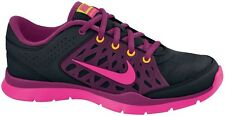 NEW NIKE FLEX TRAINER 3 Black Pink Foil WOMENS NIB Fitness Dance FREE SHIPPING