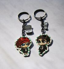 The X-Files Mulder and Scully Chibi Style Earrings or Key Chains