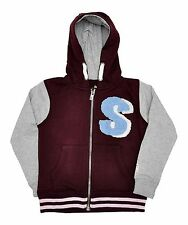 Boys Hooded Baseball Jacket, Hoodie, Soul and Glory, Sizes 3 years to 8 years
