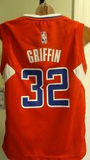 NWT NBA Adidas Los Angeles Clippers Blake Griffin Youth Red Jersey - Sizes S-XL