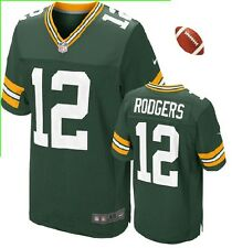 --= NFL =-- Aaron Rodgers Green Bay Packer #12 Adult Men Green Replica Jersey