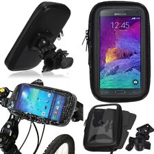 Bike Bicycle Motorcycle WATERPROOF Bag Case Cover Handlebar Mount Holder Cradle