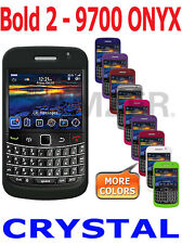 AMZER Snap On Crystal Hard Shell Case Back Cover For BlackBerry Bold 2 9700 9780