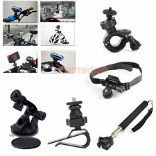 Monopod Helmet Suction Cup Holder Mount Bike kit Accessories For iON Air Pro