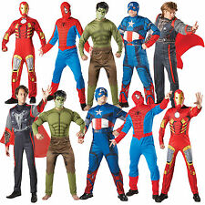 Mens Marvel Avengers Outfit Official Adults Licensed Superhero Party Fancy Dress