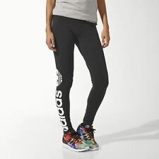 M30671 Women's Adidas Originals Trefoil Leggings Pants Black Authentic 100%