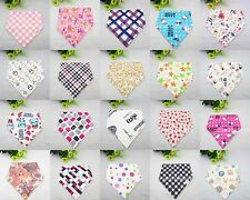 5PC Cute & Stylish Bandana Baby Bib Dribble Catcher for Infants Unisex On Sale