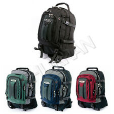 JEEP LAPTOP TRAVEL CABIN HAND LUGGAGE COLLEGE HIKING BACKPACK RUCKSACK BAG