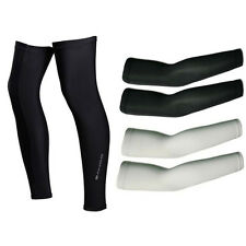 1 Pair Bike Cycling Sun Protection Arm Sleeve Warmer Cuff Cover / Leg Warmers