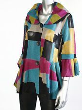 Damee Women's Multi Color Jacket  Size M L XL  New NWT  Style #867 TUR