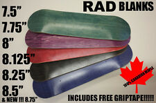 BAD BOI BLANK PRO SKATEBOARD DECK BOARD ALL SIZES * FREE GRIP * FAST DELIVERY *