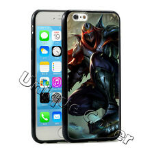 League Of Legends Zed Hybrid TPUPC Cover For Iphone case Free Gift+Free Shipping