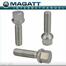 8 10 16 20 Zinc M12x1.5 Screw Bolts Wheel Head Ball R12 M12 X 1.5