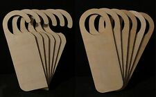 Wooden Door Hangers Wood Sign Shape Plain Blank Craft Plaque Decoration