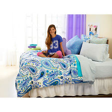 PAISLEY GIRLS LADIES COLLEGE DORM ROOM MICROFIBER COMFORTER KING QUEEN TWIN FULL