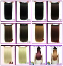 170g 5Clips on  one hairpiece Virgin Remy Human Hair Extension Clip In,Full Head