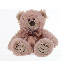 SOFT CUDDLY TEDDY BEAR PLUSH COSY COMFY GIFT PRESENT SITTING TOY GIRLS RIBBON