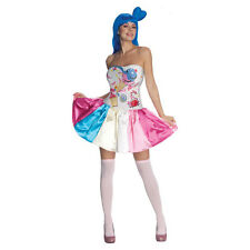 Woman's Sexy Katy Perry Candy Girl Pop Star Party Fancy Dress Halloween Costume