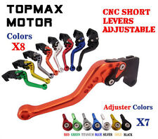 CNC Short Adjustable Brake Clutch Levers For  Buell XB9 XB12 Models 2003-2009
