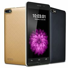 "Unlocked 5.5"" Android Dual Core/Dual Sim Smartphone GSM/3G WCDMA GPS Cell Phone"