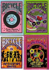 CARTE DA GIOCO BICYCLE PARTY STARTERS,pokers size
