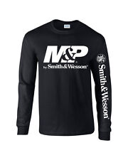 Smith And Wesson MP T-Shirt Pro Gun Long Sleeve 2nd amendment Free Decal