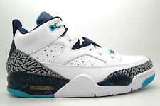 [580603-105] AIR JORDAN SON OF LOW MENS SNEAKERS WHITE MIDNIGHT NAVY TURQUOISE B