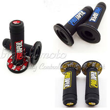 Throttle Handle Grips Fit Yamaha Suzuki Kawasiki Honda Motorcycle Pit Dirt Bike
